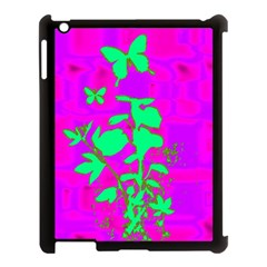 Butterfly Apple iPad 3/4 Case (Black)