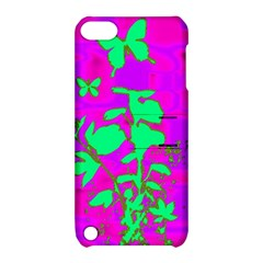 Butterfly Apple Ipod Touch 5 Hardshell Case With Stand