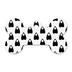 Talking Board Dog Tag Bone (One Sided)