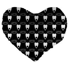 Talking Board 19  Premium Heart Shape Cushion