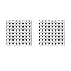 Talking Board Cufflinks (Square)