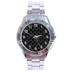 Talking Board Stainless Steel Watch