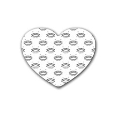Talking Board Drink Coasters (Heart)