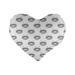 Talking Board 16  Premium Heart Shape Cushion
