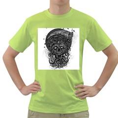 Deception Mens  T Shirt (green)