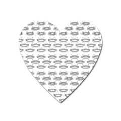 Talking Board Magnet (Heart)