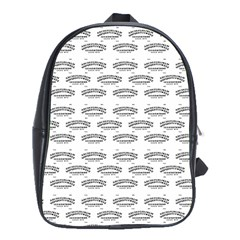 Talking Board School Bag (XL)