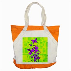 Butterfly Green Accent Tote Bag