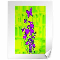 Butterfly Green Canvas 36  X 48  (unframed)