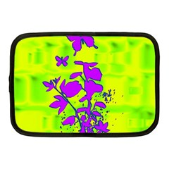 Butterfly Green Netbook Sleeve (Medium)