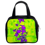 Butterfly Green Classic Handbag (Two Sides) Front