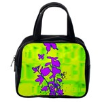 Butterfly Green Classic Handbag (Two Sides) Back