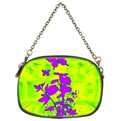 Butterfly Green Chain Purse (one Side)
