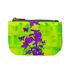 Butterfly Green Coin Change Purse