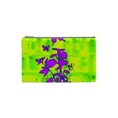Butterfly Green Cosmetic Bag (small)