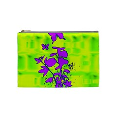 Butterfly Green Cosmetic Bag (medium)