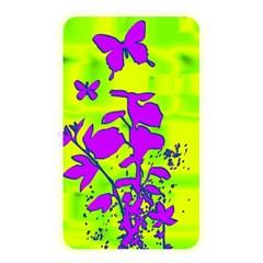 Butterfly Green Memory Card Reader (Rectangular)