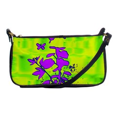 Butterfly Green Evening Bag
