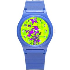 Butterfly Green Plastic Sport Watch (Small)