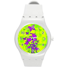 Butterfly Green Plastic Sport Watch (Medium)
