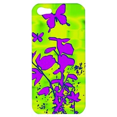 Butterfly Green Apple iPhone 5 Hardshell Case
