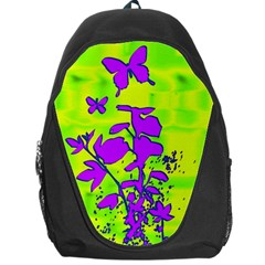 Butterfly Green Backpack Bag
