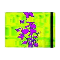 Butterfly Green Apple iPad Mini Flip Case