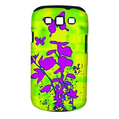 Butterfly Green Samsung Galaxy S III Classic Hardshell Case (PC+Silicone)