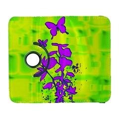 Butterfly Green Samsung Galaxy S  Iii Flip 360 Case