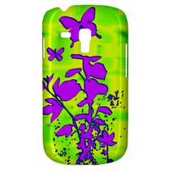 Butterfly Green Samsung Galaxy S3 MINI I8190 Hardshell Case