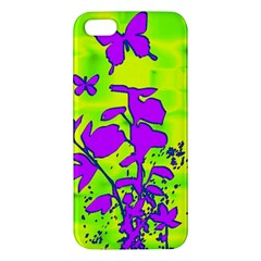Butterfly Green iPhone 5 Premium Hardshell Case