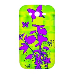 Butterfly Green Samsung Galaxy Grand DUOS I9082 Hardshell Case