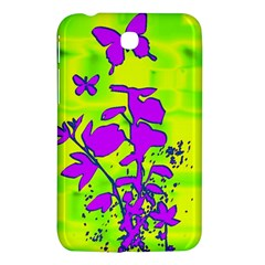 Butterfly Green Samsung Galaxy Tab 3 (7 ) P3200 Hardshell Case