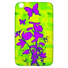 Butterfly Green Samsung Galaxy Tab 3 (8 ) T3100 Hardshell Case