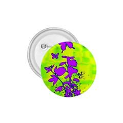 Butterfly Green 1.75  Button