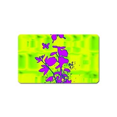 Butterfly Green Magnet (Name Card)