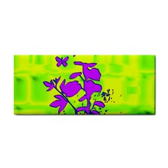 Butterfly Green Hand Towel