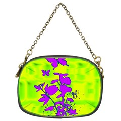 Butterfly Green Chain Purse (Two Sided)