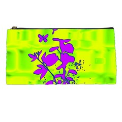 Butterfly Green Pencil Case