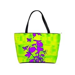 Butterfly Green Large Shoulder Bag