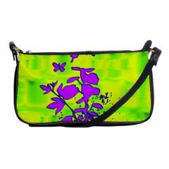 Butterfly Green Evening Bag