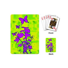 Butterfly Green Playing Cards (Mini)