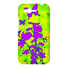 Butterfly Green HTC Rhyme Hardshell Case
