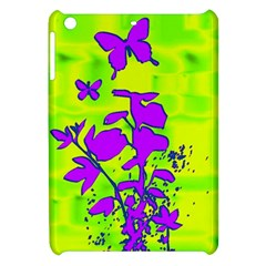 Butterfly Green Apple iPad Mini Hardshell Case