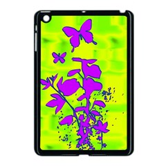 Butterfly Green Apple Ipad Mini Case (black)