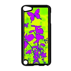 Butterfly Green Apple Ipod Touch 5 Case (black)