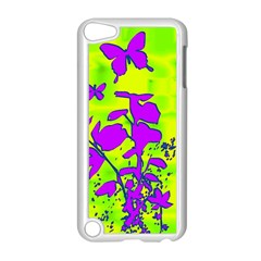Butterfly Green Apple Ipod Touch 5 Case (white)