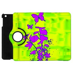Butterfly Green Apple iPad Mini Flip 360 Case
