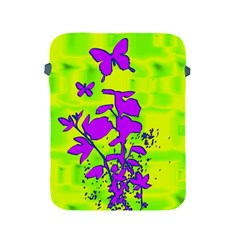 Butterfly Green Apple iPad Protective Sleeve