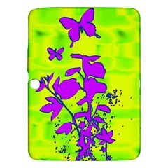 Butterfly Green Samsung Galaxy Tab 3 (10.1 ) P5200 Hardshell Case